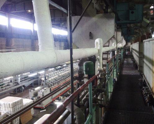 Утепление системы трубопроводов на производственных предприятиях в Екатеринбурге