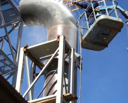 Теплоизоляция и защита от коррозии паропроводов на крупных предприятиях Краснодарского края